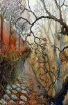 Spooky Forest Concept by BrianWoodwardArt