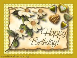 happy birthday by wwwtina