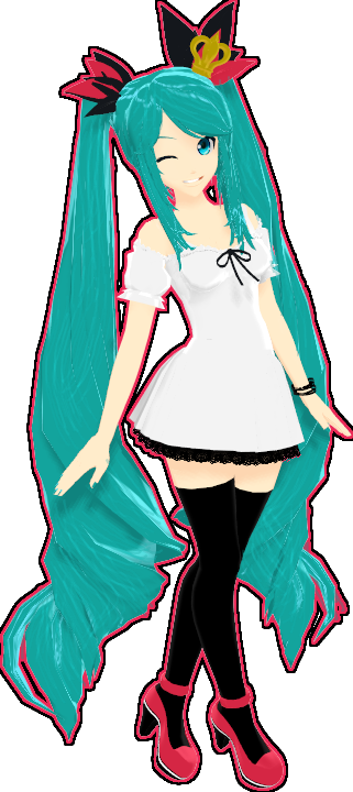 RxNxD World Is Mine Miku by RinXNeruXD