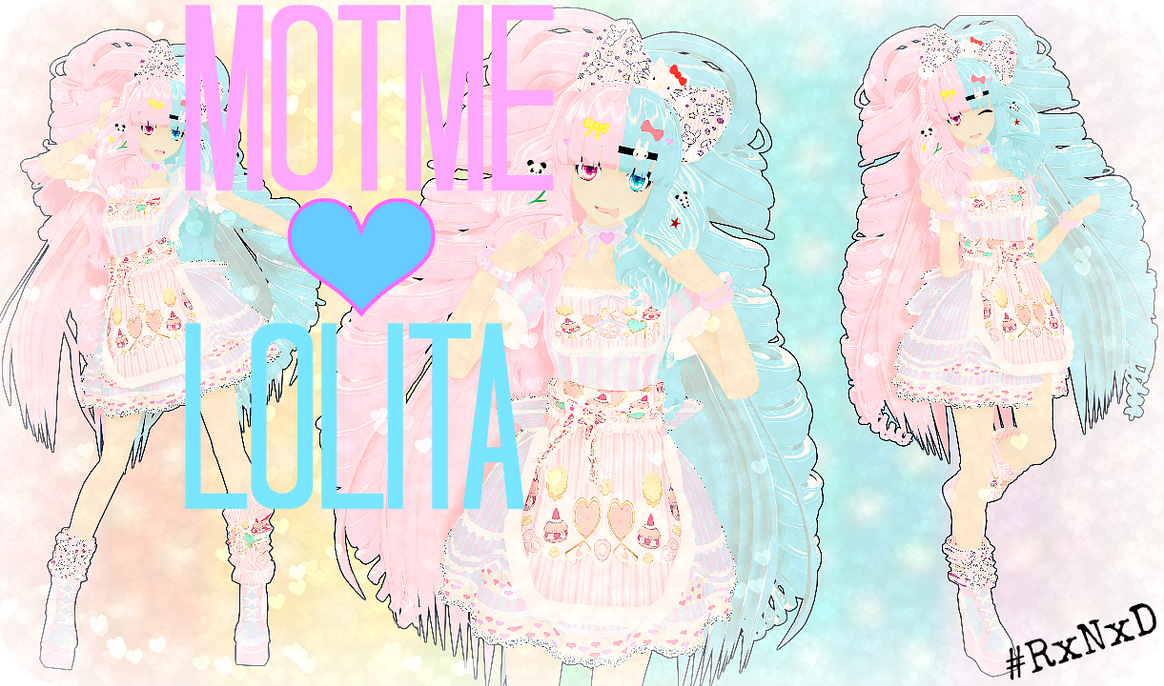 RxNxD .:MOTME:. Lolita CottonCandy RE-ENTRY by RinXNeruXD