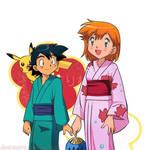 #4 My Week SatoKasu ~ Kimono: she's so cute!