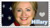 Still with her -Pro Hillary Clinton Stamp- by Lirase