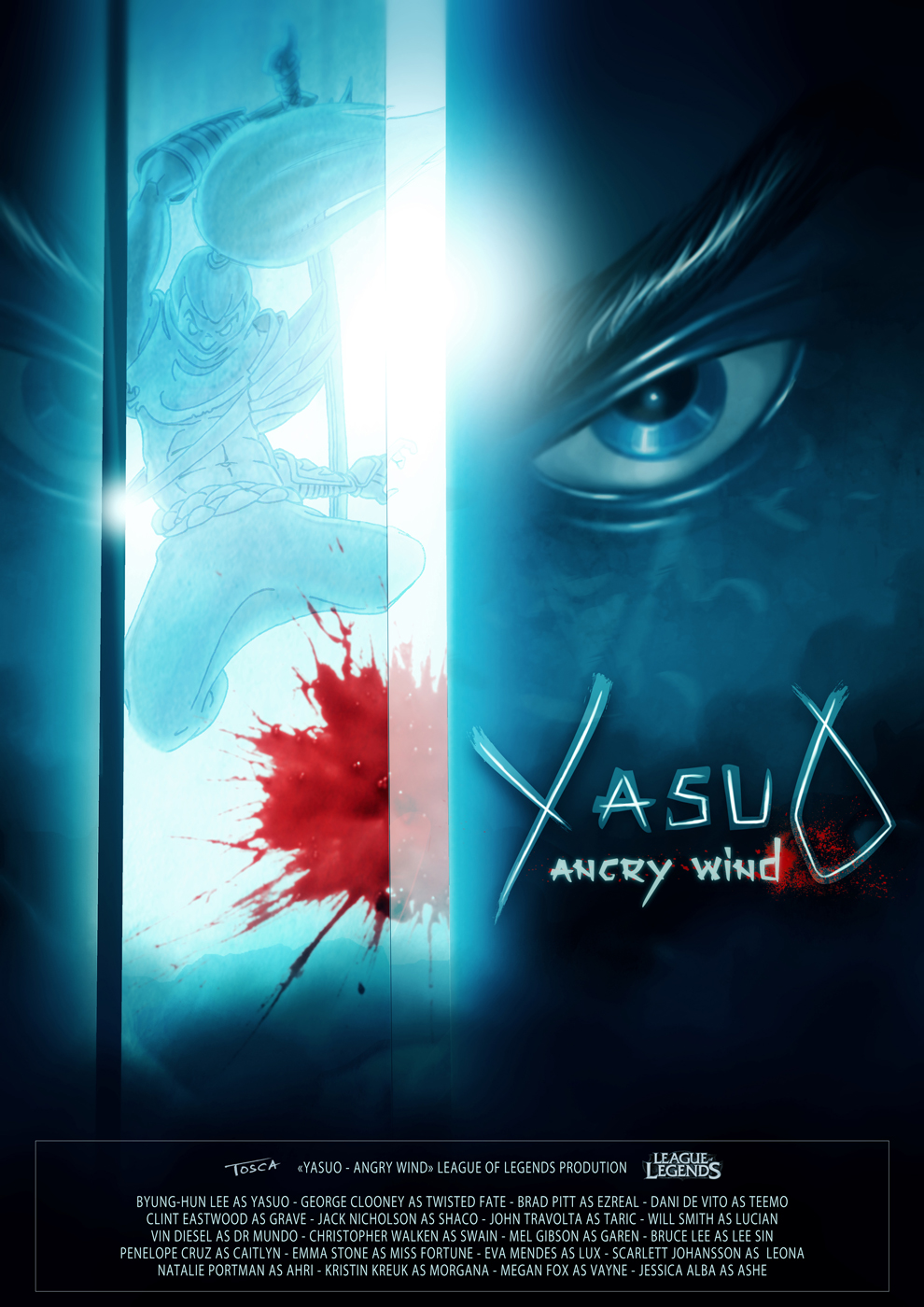 Yasuo Fan Art Contest yasuo contest by tosca...