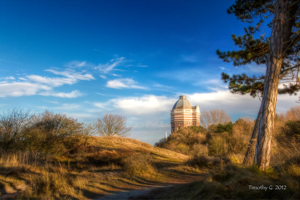 Watertower of The Hague by TimothyG81