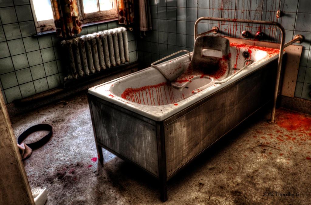 Horror bath by TimothyG81