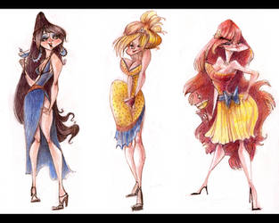 classy ladies by betsybauer