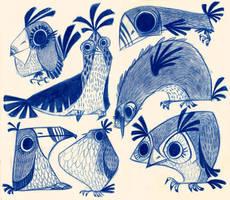 Birdies by betsybauer