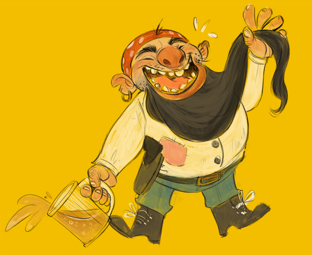 Blackbeard by betsybauer