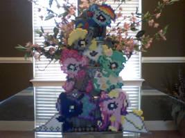 My Little Pony Perler V-Day Mystery Bag Ponies by Perler-Pony