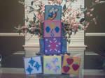 My Little Pony Perler Cutie Mark Coasters