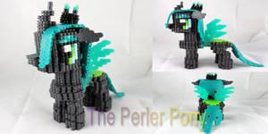 My Little Pony 3D Perler Queen Chrysalis