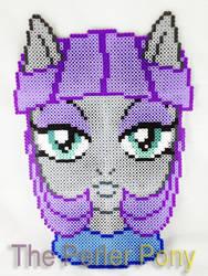 My Little Pony Perler Maud Pie Headshot Portrait