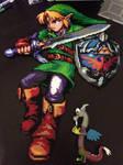 Legend of Zelda Large Link Perler