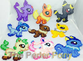Pokemon Eeveelution Perler Bead Set