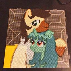 The Perler Pony Calpain x Ren Haru Gift For Waifu