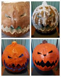 Pumpkin mask 2 by sokesamurai