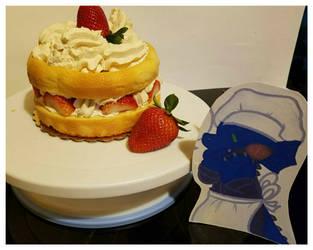 Strawberry Shortcake. by sokesamurai