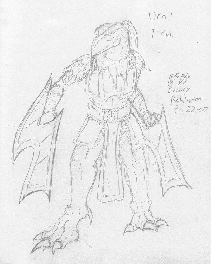 Urai Fen, Blade master by RavarokJudge