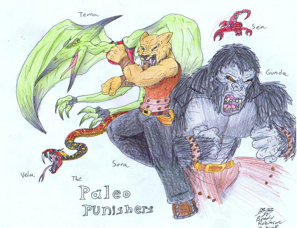 The Paleo Punishers by RavarokJudge