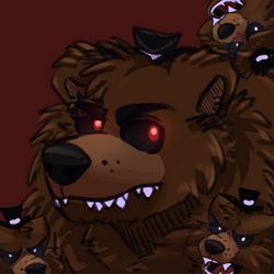 Nightmare Papa Bear by brannahgirl