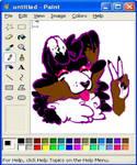 MS Paint Color Palette Challenge