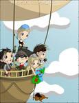 Abney Park Airship Kids Show