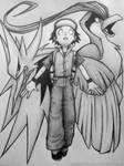 Twitch Plays Pokemon quickie fanart sketch