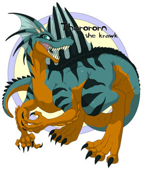 Cell Shaded Tharororn