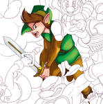 Nintendo Tribute Preview no.4: Link