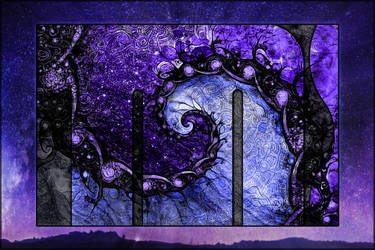 Beautiful Fractal Painting -- Nocturne of Scorpio