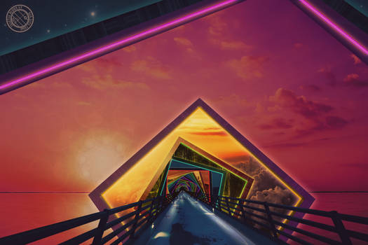 The Rainbow Bridge of a Thousand Fractal Colors