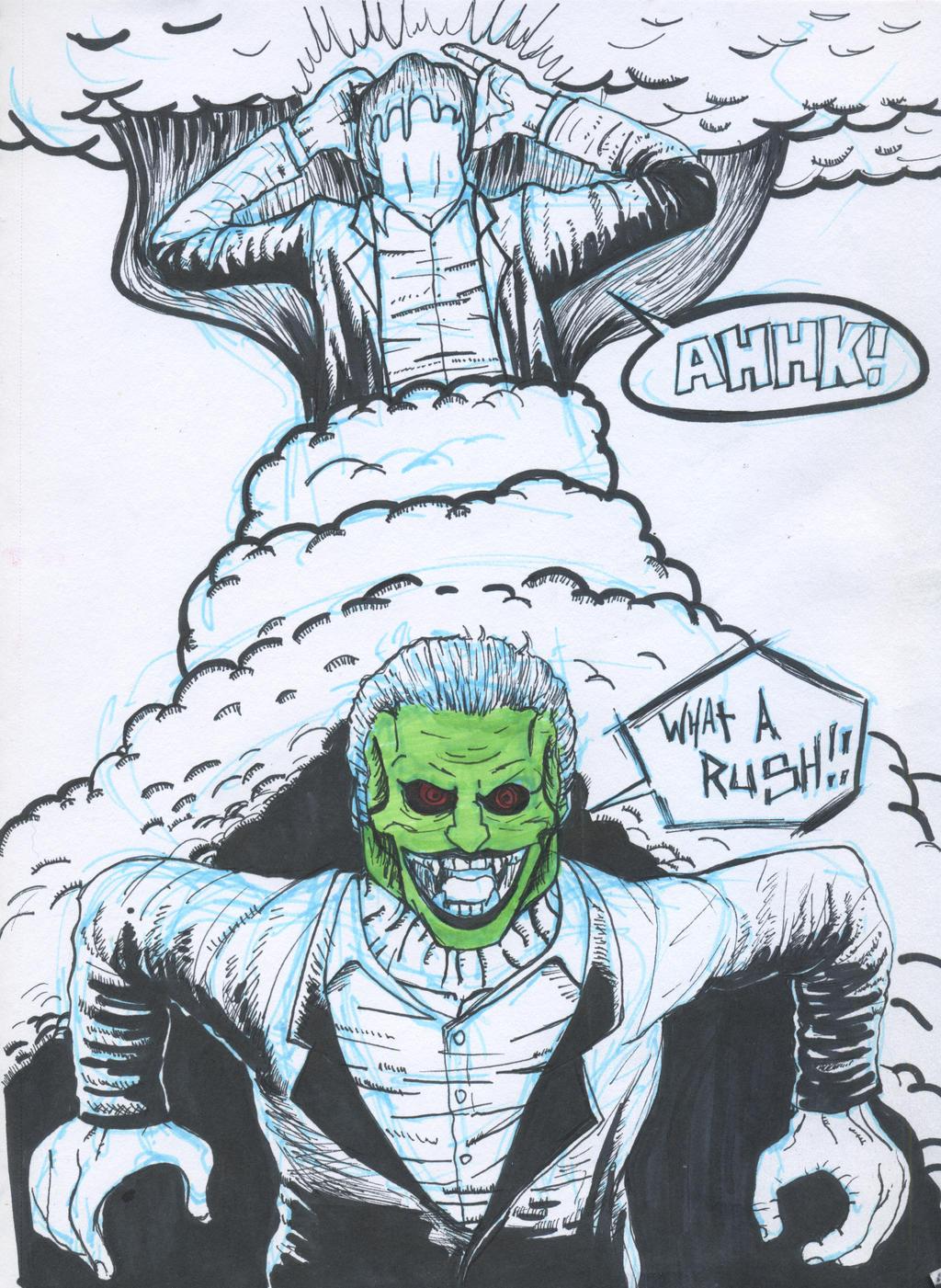 Dorian Tyrell, The Mas... Jim Carrey The Mask