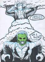 Dorian Tyrell, The Mask by DerrickClarke