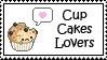 Cup Cakes Lovers stamp by ILICarrieDoll