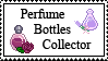 Perfume Bottles Colector stamp by ILICarrieDoll