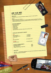 Resume by ILICarrieDoll