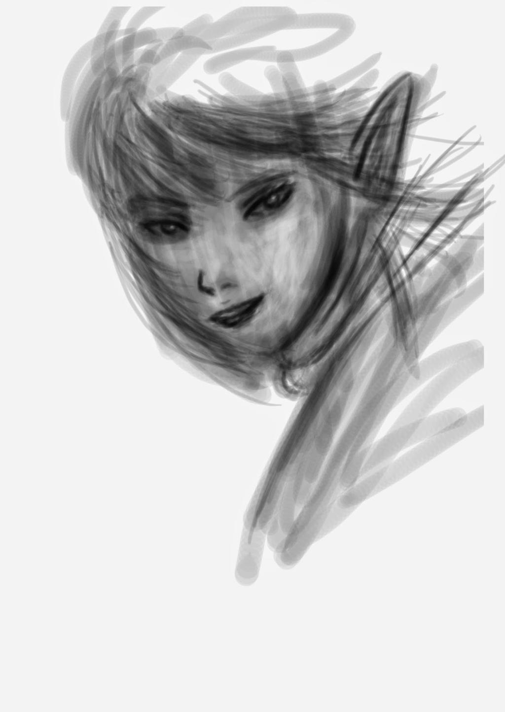Thief Elf Lady by ILICarrieDoll