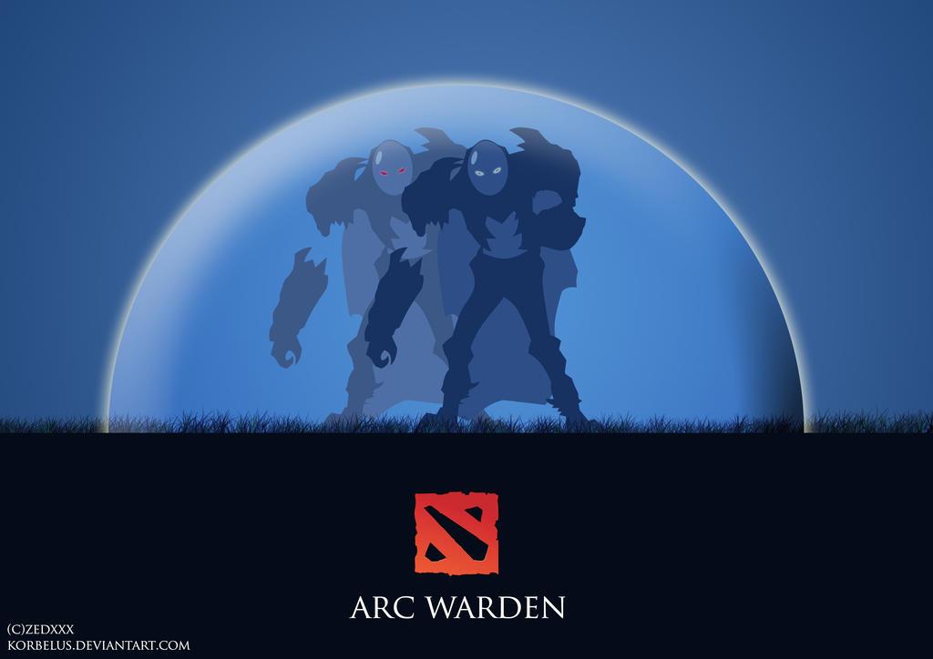 Arc Warden Silhouette Dota 2 by korbelus