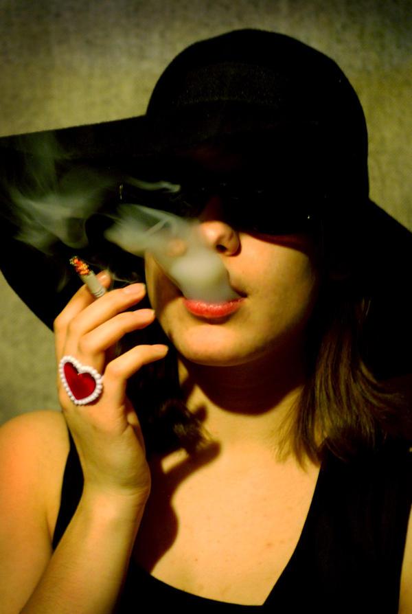 megan smoking  by zealousoblivion - ~ Avatar [ HazaL ]
