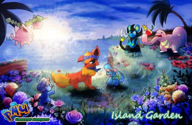 PMU Concept Rangers: Island Garden Dungeon by Tisserovehicks