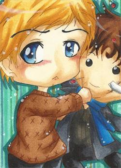 Sherlock Plushie by Jyounouchi