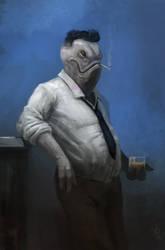 Winston:  The Gentleman Fish