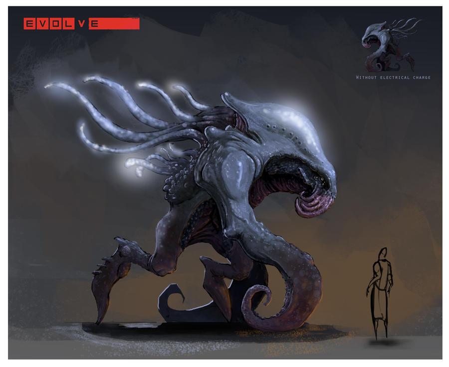 Old Kraken Concept by NickDeSpain