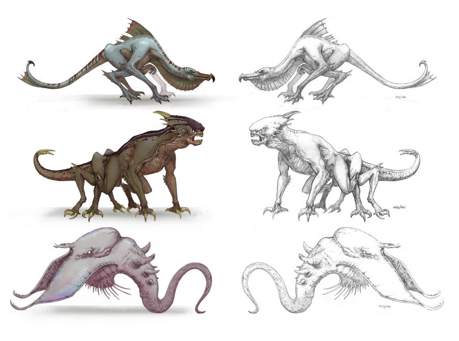 Creatures 1 by NickDeSpain