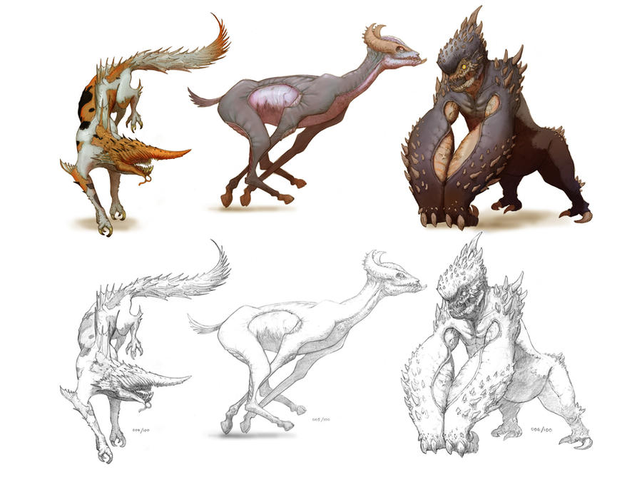 Creatures 2 by NickDeSpain