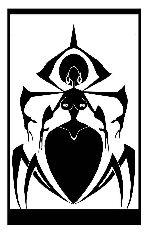 Black Widow by mathematix