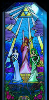 Sacred Hyrule Stained Glass