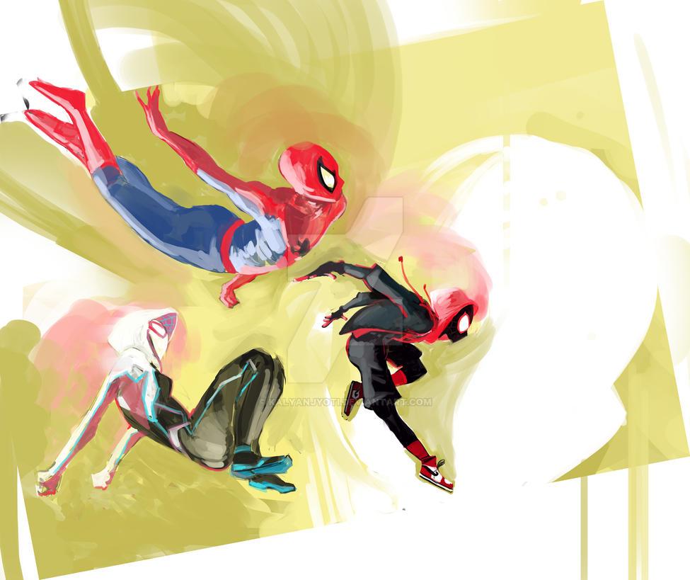 into the spiderverse by kalyanjyoti