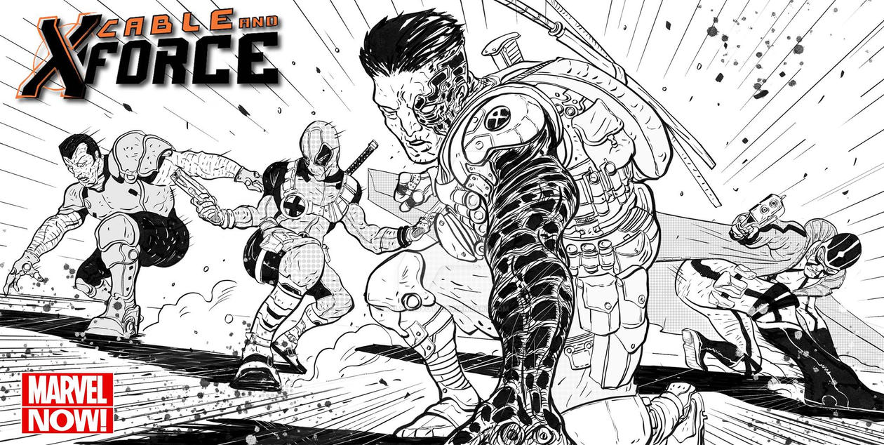 Cable and X force by kalyanjyoti