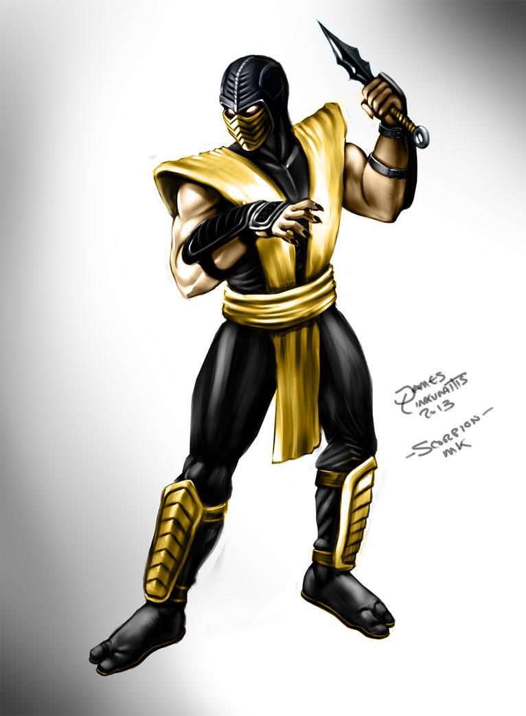 Scorpion - Mortal Kombat by jameslink